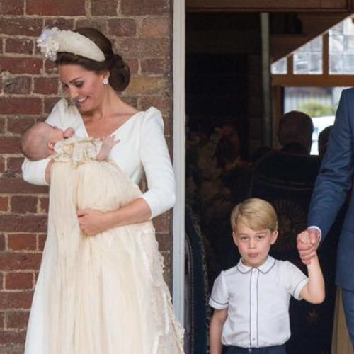 Official Portraits From Prince Louis' Christening Released
