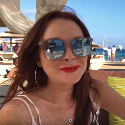 The Trailer For Lindsay' Lohan's Show Is Cringey Af