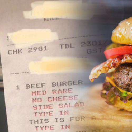 The Strange Sixteen Step Burger Request