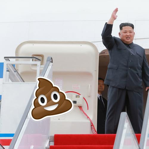 Kim Jong-Un Took A Portaloo To Singapore To Save His Poop