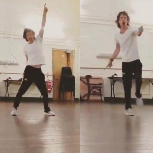Moves Like Jagger! Mick Hits Dance Floor After Health Scare