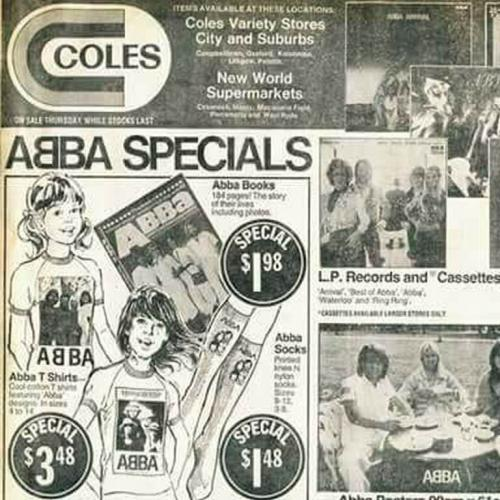 This Coles Catalogue Of ABBA Merch Is Nostalgic AF