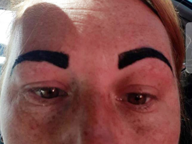 Angry Birds eyebrows