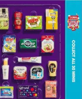 Coles Slammed Over New 'Little Shop' Promo