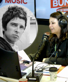 Reading Noel Gallagher's Swear-Filled Message to his Brother Liam On-Air