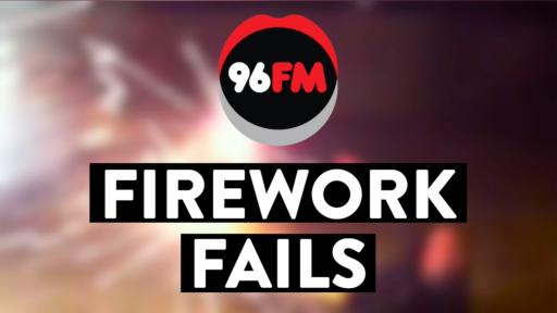 The Best Firework Fails