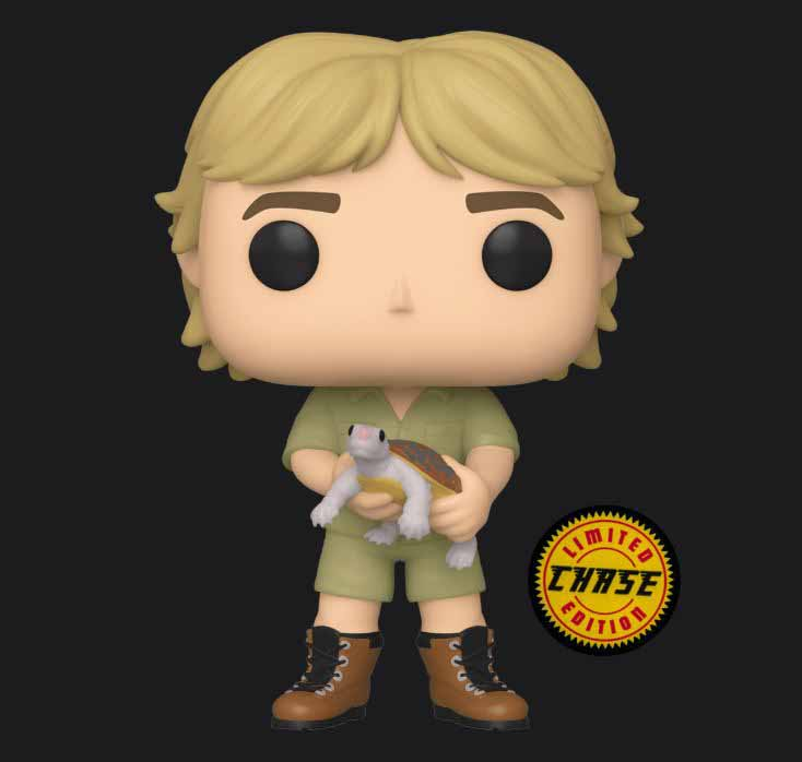 Steve Irwin chase piece