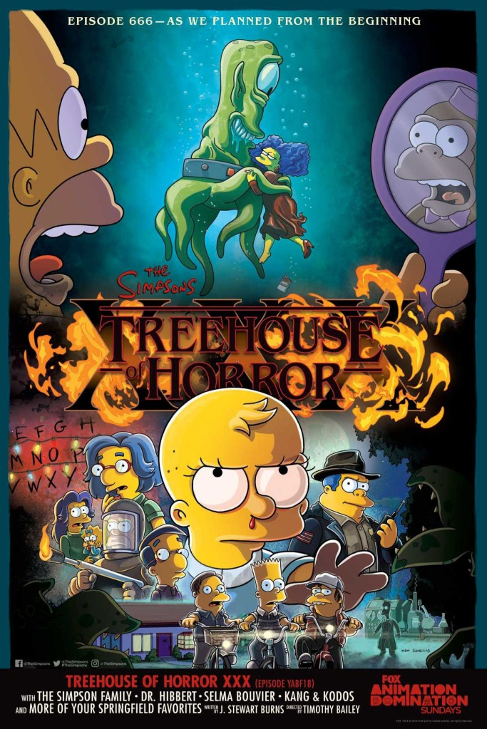 Treehouse of Horror XXX The Simpsons