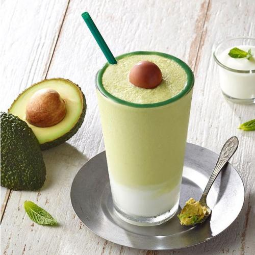 This Avocado Frappuccino Looks Hass-Tastic