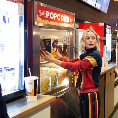 Brie Larson Just Gatecrashed A 'Captain Marvel' Screening