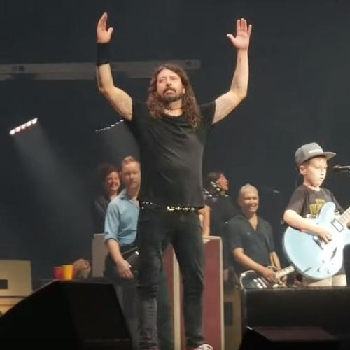 Foo Fighters Cover Metallica Classic With 10-Year-Old Boy