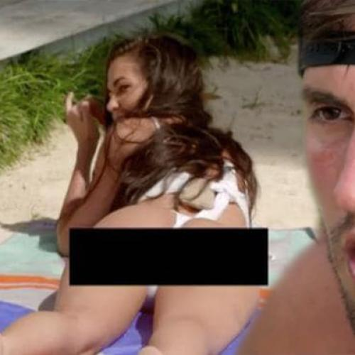 Channel 10 Censors Tenille's Butt But Not Ivan's Behaviour?