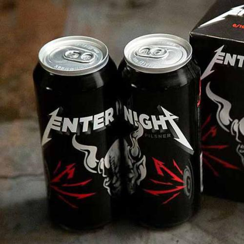 Metallica's New 'Enter Night' Beer To Be Sold In Australia