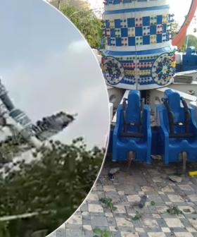 Two People Dead And Dozens Injured After Ride Snaps In Half At Theme Park