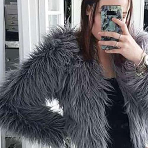 This Woman Made Her Own Faux Fur Coat Using What???