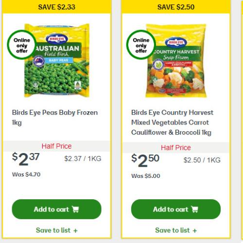 Woolworths 50% Off Freezer Items Sale Is Happening Right Now