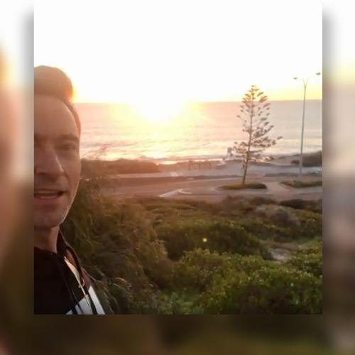 Forget Quokkas, Hugh Jackman Showcases Perth Sunset Ahead Of Gig