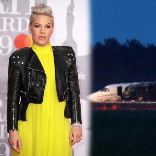 P!nk's Tour Plane Has Reportedly Crash-Landed In Denmark
