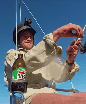 This Bloke's Insane Fishing Drone Invention Is Aussie Ingenuity At Its Best