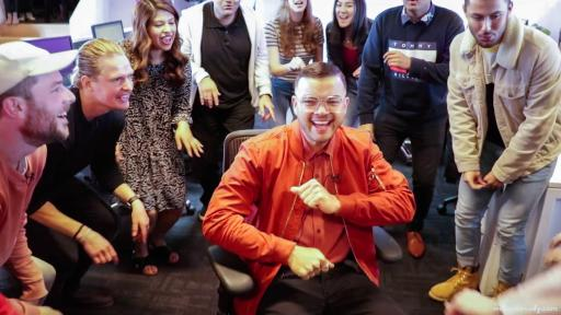 """Flash Choir"" Gives Guy Sebastian The Surprise of a Lifetime"
