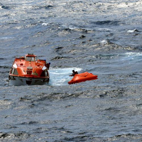 P&O Cruise Ship Rescues Three Men Found At Sea