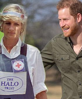 Prince Harry To Follow In His Mother's Landmine Steps