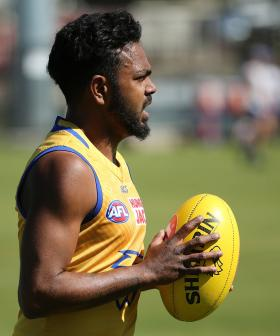 West Coast's Willie Rioli Tests Positive To Cannabis