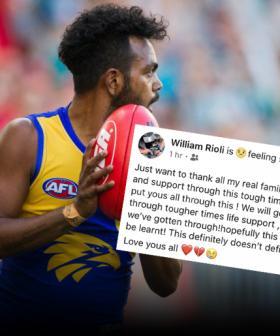 Eagle Willie Rioli Speaks Out Amid AFL Suspension