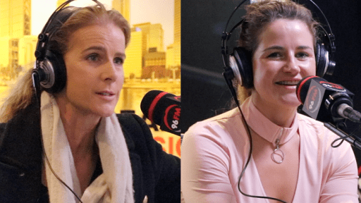 Aussie superstar Rachel Griffiths and jockey legend Michelle Payne chat to the Bunch