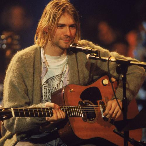 Kurt Cobain's Green Cardigan Is Up Grabs And, No, It Hasn't Been Washed