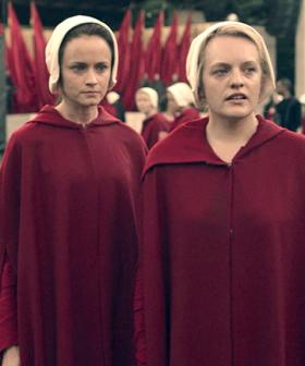 A Couple Had a 'Handmaid's Tale' Themed Wedding & People Are Not Having It!