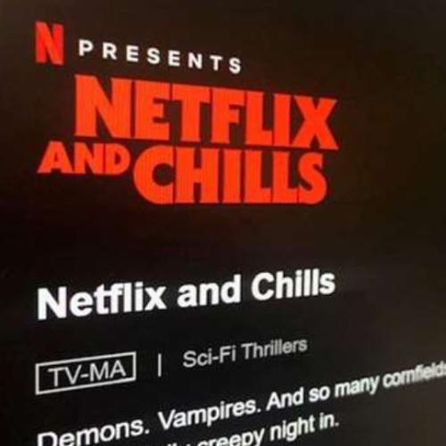 Netflix Has A Halloween Section And Of Course It's Called 'Netflix And Chills'