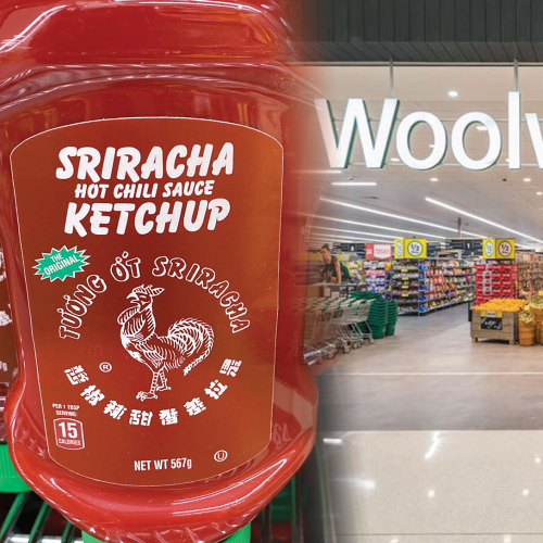 When Two Become One: Sriracha Ketchup Is Now On Sale At Woolies!