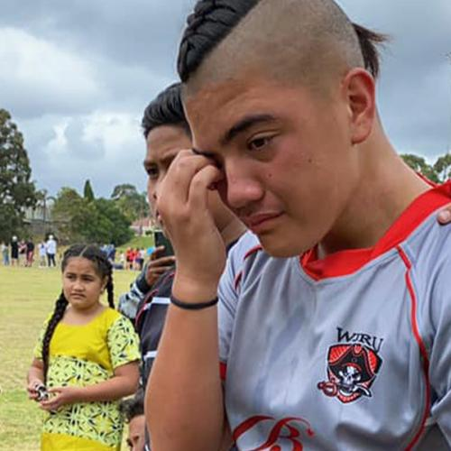 Devastating Moment 11-Year-Old Forced Off Junior Footy Field For Being 'Too Big'