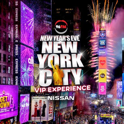 96FM's VIP's for New Year's Eve in New York City