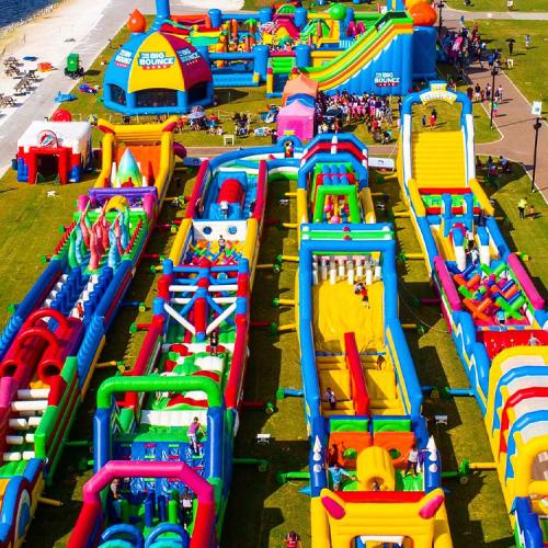 World's Largest Inflatable Bouncy Castle Is Coming To Perth