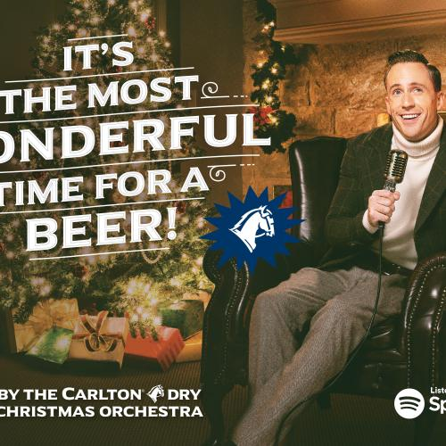 The Carlton Dry Christmas Orchestra Release a Hilarious Take On A Classic!