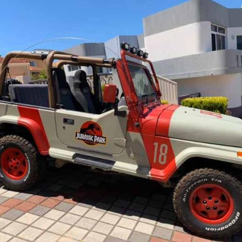 Hold Onto Your Butts, Perth's Jurassic Park Jeep Is Up For Grabs