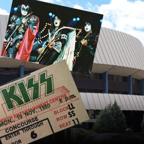 39 Years Ago: KISS Kicks Off 'Unmasked' Tour At Perth Entertainment Centre