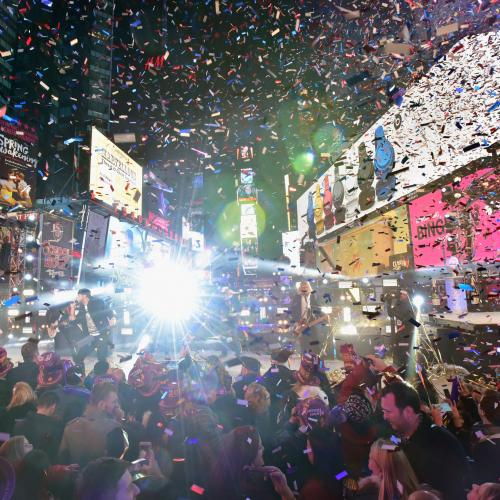 The NYE Issues In Times Square That 96FM's VIPs WON'T Have To Deal With
