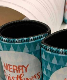 Woolies Stubby Holder's Recalled Over 'Christmas' Typo