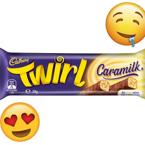 CONFIRMED: A Twirl Caramilk Choccy Is Coming To Shelves And VERY Soon