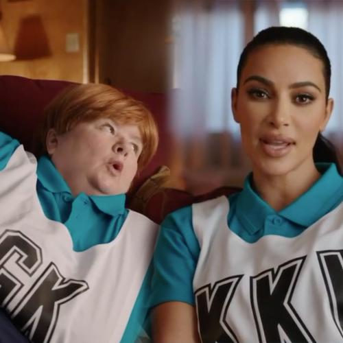 Sharon Strzelecki & Kim Kardashian Team Up For Hilarious Uber Eats Ad