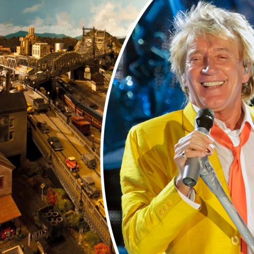 Rod Stewart's Epic Model Rail City Took Him 23 Years To Complete