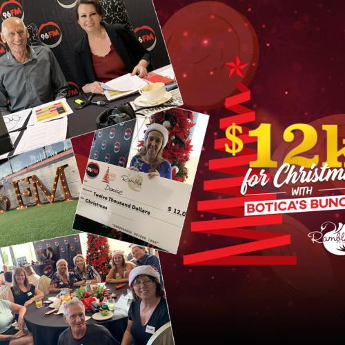 We Have A Winner! Botica's Bunch Give Away $12K For Christmas!