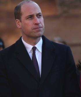 Camera Catches Awkward Touching Moment Between Kate And William
