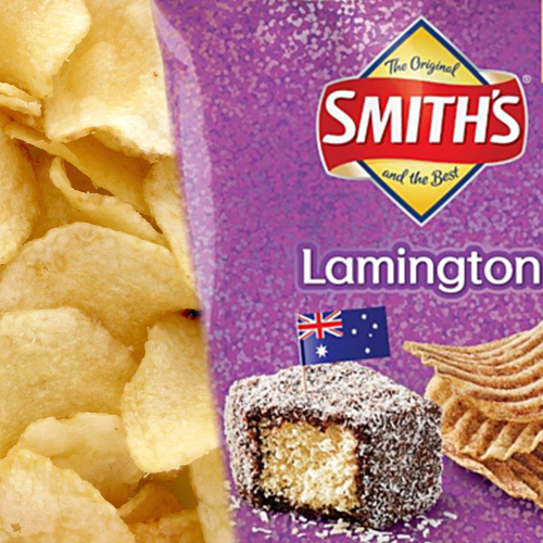 Smith's Chips Go Aussie-As With Rumoured LAMINGTON Flavour Chips!