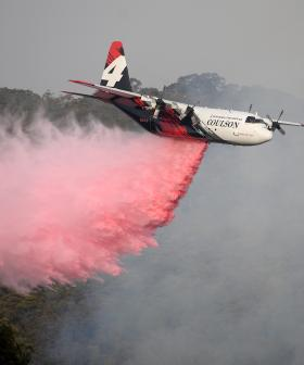 Fears A Water Tanker Plane Has Crashed While Fighting Fires