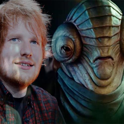 So, That Alien Creature in The Rise of Skywalker Was Ed Sheeran