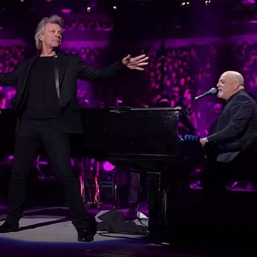 Jon Bon Jovi Made An Unannounced Appearance With Billy Joel And It's A Goddamn Gift